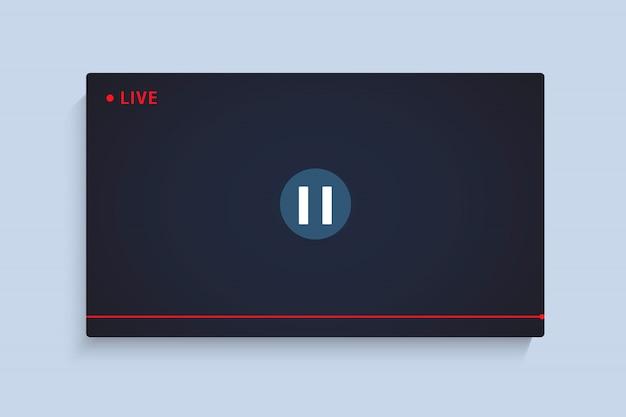 Reproductor de video en vivo