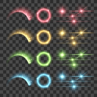 Resalte fuegos artificiales resplandor lente destello luminescencia fluorescencia iluminación luces