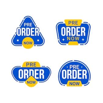 Reserva ahora la colección de insignias de etiquetas