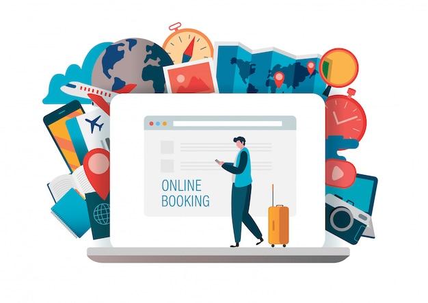 Reserva en línea