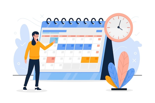 Reservar un evento en el calendario