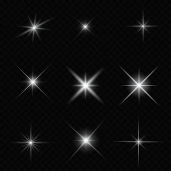 Resplandor estrella brillante