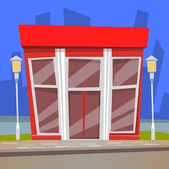 Restaurante con ilustración de lámparas