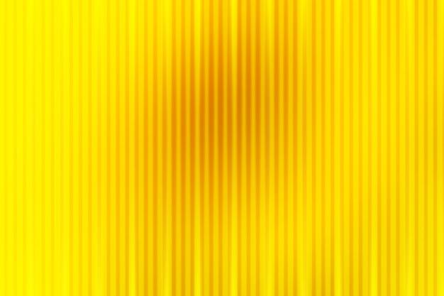 Resumen amarillo dorado brillante con líneas de luz borrosa de fondo