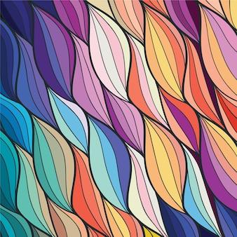 Resumen de antecedentes de colores