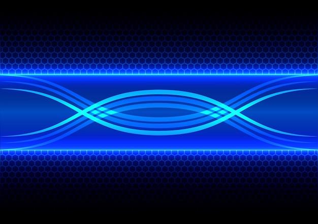 Resumen de antecedentes de efecto de hexágono y rayos