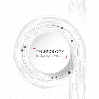 Resumen de antecedentes de la tecnología. red digital y concepto de alta tecnología.