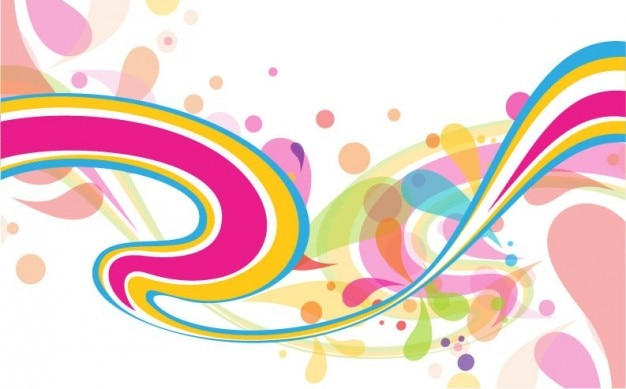 Resumen de antecedentes vector de colorido