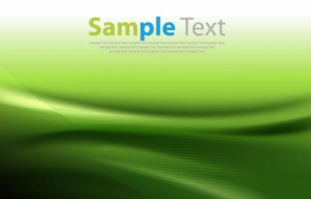 Resumen de antecedentes vector verde