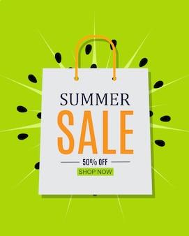 Resumen de antecedentes de venta de verano.