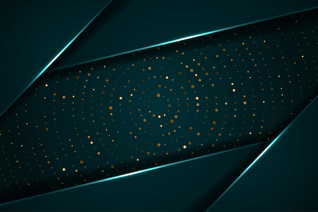 Resumen capas de superposición de luz oscura con fondo futurista moderno círculo