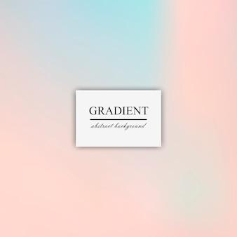 Resumen desenfoque de gradiente suave del vector de fondo