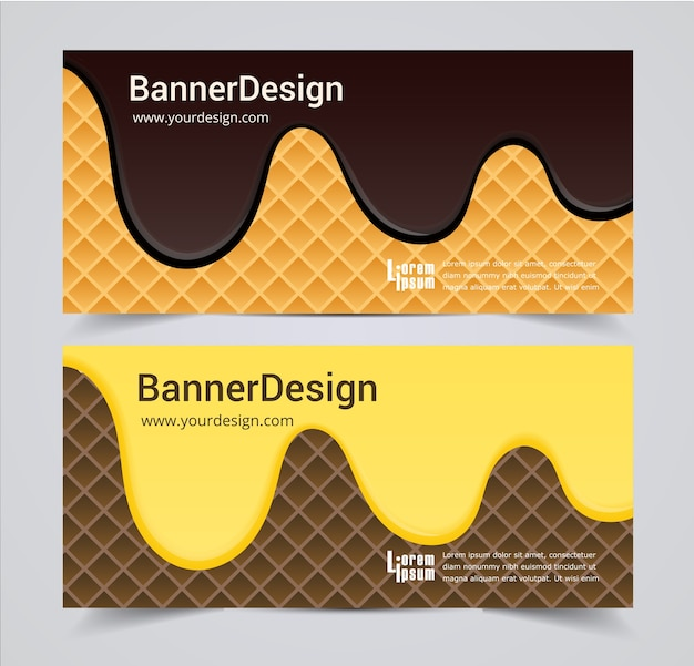 Resumen encabezado banner diseño vector background.