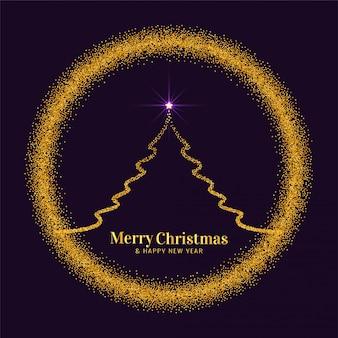 Resumen festival de feliz navidad brilla fondo