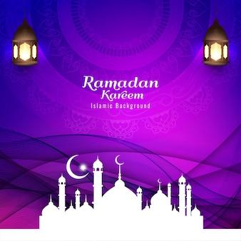 Resumen festival islámico fondo religioso
