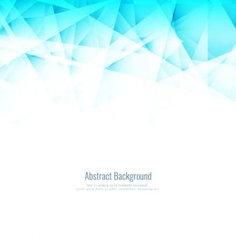 Resumen fondo azul brillante poligonal