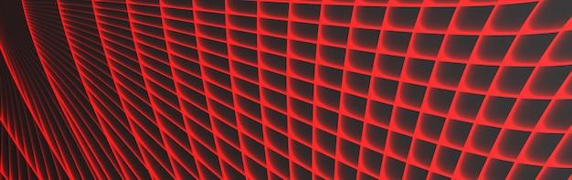 Resumen fondo de banner gris y rojo oscuro con efecto de línea de luz