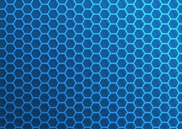 Resumen de fondo de hexágono de patrón