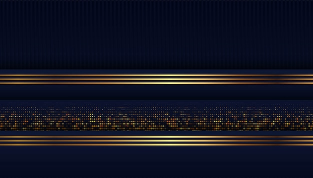 Resumen forma azul oscuro con fondo de superposición