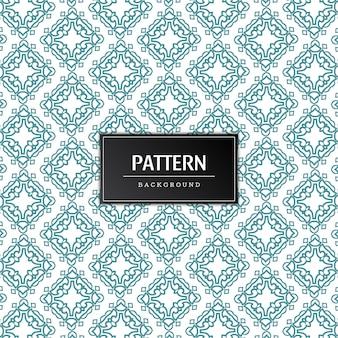 Resumen hermoso patrón decorativo