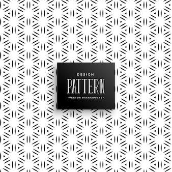 Resumen líneas de patrón de triángulo de estilo