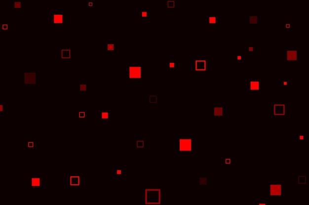 Resumen de lluvia de píxeles de fondo