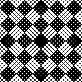 Resumen monocromo transparente redondeado de fondo cuadrado