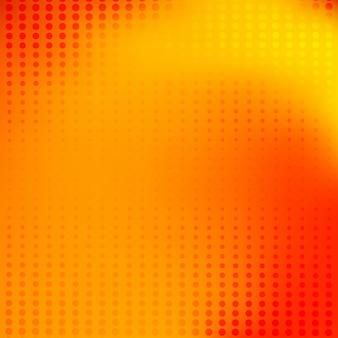 Resumen naranja borrosa fondo puntos de semitono