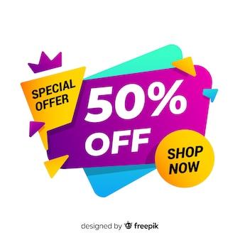 Resumen oferta especial banner