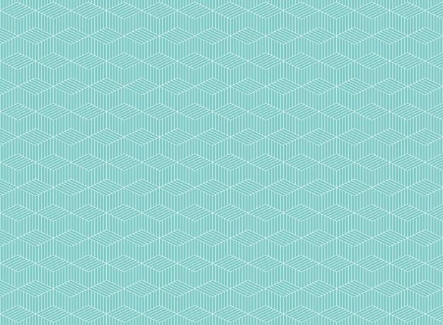 Resumen de patrón de línea raya azul de fondo zig zag