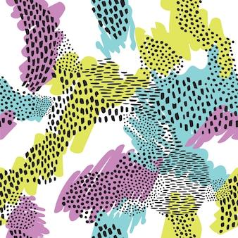 Resumen de patrones sin fisuras de los animales.