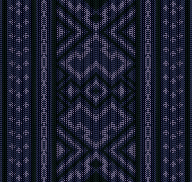 Resumen de patrones sin fisuras aztecas tribales