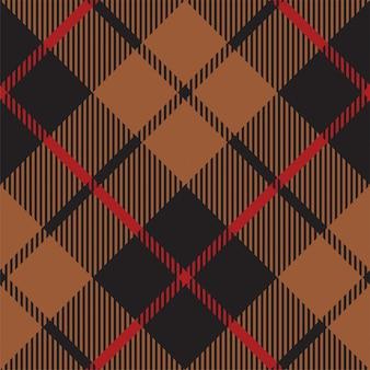 Resumen de patrones sin fisuras tartán. ilustración vectorial