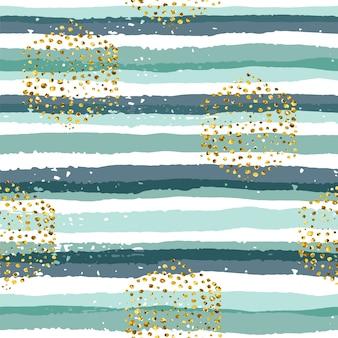 Resumen de patrones geométricos sin fisuras con rayas