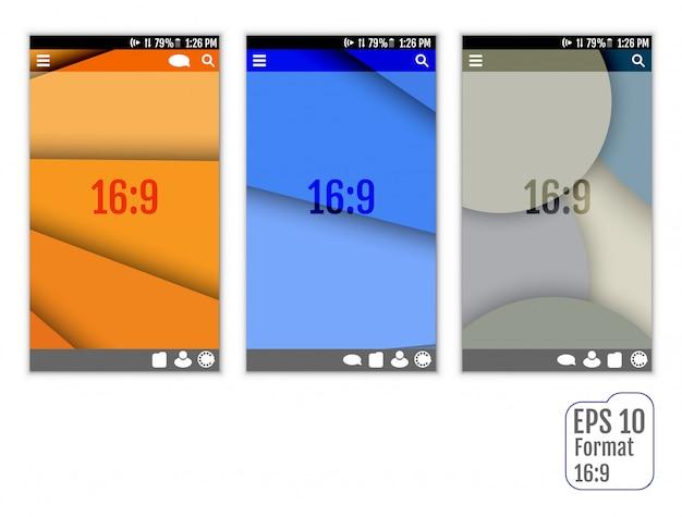 Resumen de plantillas de interfaz de usuario