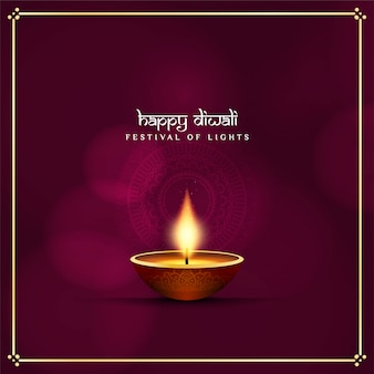 Resumen religioso feliz diwali fondo decorativo