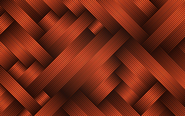 Resumen tiras diagonales fondo naranja