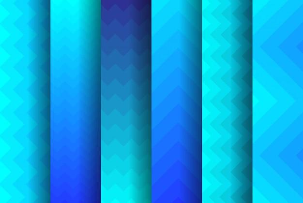 Resumen de trama de fondo. conjunto de formas abstractas de color, fondo de diseño abstracto.