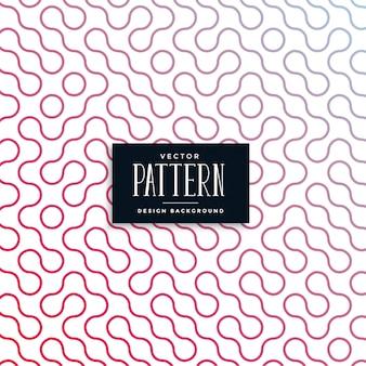 Resumen truchet azulejo curvo de patrones sin fisuras