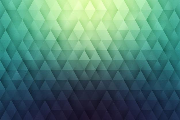 Resumen de vectores 3d fondo geométrico