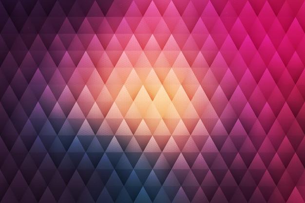 Resumen de vectores de fondo geométrico