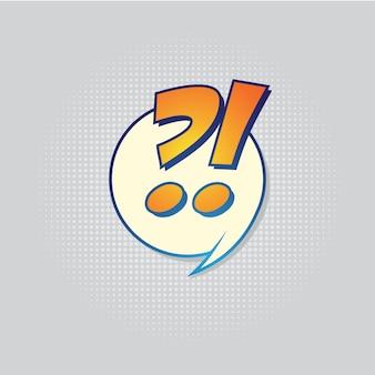 Retro pop art comic shout seamless pattern