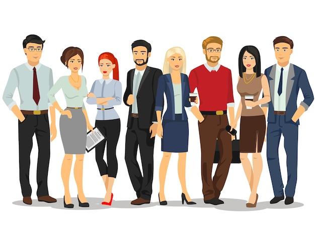 Reunión de gente de negocios