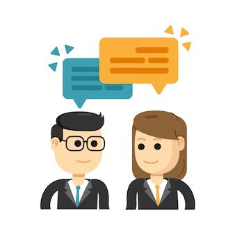 Reunión de negocios y lluvia de ideas, trabajando juntos