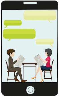 Una reunión de negocios