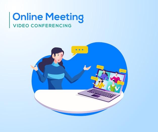 Reuniones y videoconferencias en línea