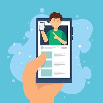Revisión de blogger en línea