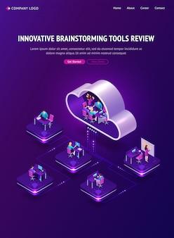 Revisión innovadora de herramientas de lluvia de ideas
