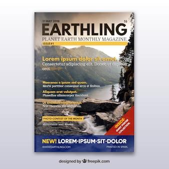 Revista con concepto de naturaleza