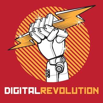 Revolución digital de la mano